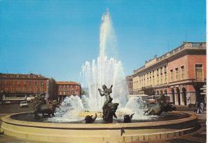 France Nice La Fontaine de la Place Massena