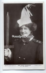 b3040 - Stage - Actress - Marie Studholm in Uniform, as Lady Madcap - Postcard