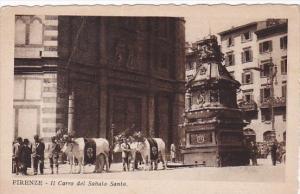Italy Firenze Il Carro del Sabato Santo
