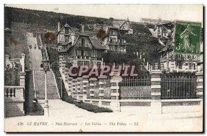 Old Postcard Le Havre Le Havre Nice Villas