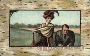 Artist Signed Earl Christy 1909 minor corner wear, postal used 1909