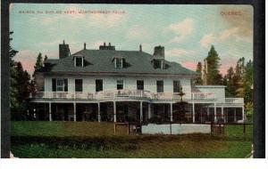 MONTGOMERY FALLS, Quebec, Canada; Maison du Duc de Kent, 00-10s