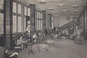 Grand Salon du College Franco-Britannique Paris French Postcard
