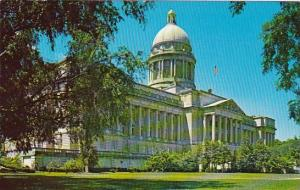 Kentucky Frankfort State Capitol Completed In 1909
