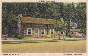GATLINBURG, Tennessee, 1930-1940's; Ivy & Bill's Restaurant