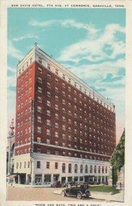 NASHVILLE , Tennessee, 1900-10s ; Sam Davis Hotel