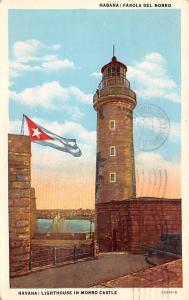 Havana Cuba, Republica de Cuba Lighthouse in Morro Castle Havana Lighthouse i...