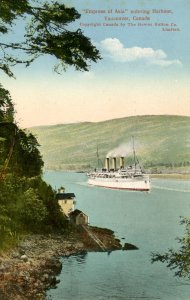 Canadian Pacific Steamships - SS Empress of Asia