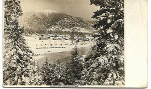 WINTER VIEW OF THOMPSON FALLS, MONTANA, 1909