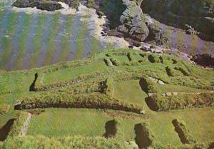 Scotland Cornwall Tintagel Castle The Monastery
