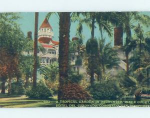 Divided-Back HOTEL DEL CORONADO Coronado - Near San Diego California CA B3146