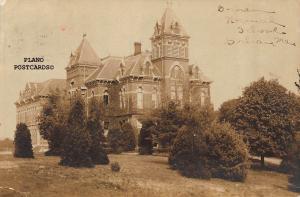 GORHAM, MAINE GORHAM NORMAL SCHOOL-1909 RPPC REAL PHOTO POSTCARD