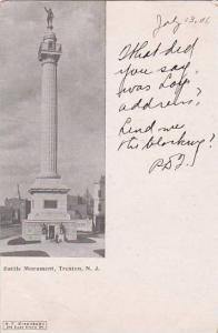 New Jersey Trenton Battle Monument  1906