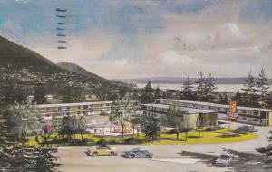 Maples Motor Lodge, Swimming Pool, Classic Cars, VANCOUVER, British Columbia,...