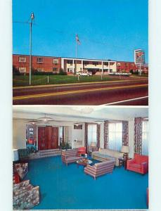 Unused Pre-1980 OLD CARS & TOWN AND COUNTRY MOTEL Cuyahoga Falls OH s5613@