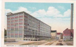 Massachusetts Peabody Main Plant A C Lawrence Company