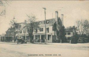 PRINCESS ANNE , Maryland, 1938 ; Washington Hotel