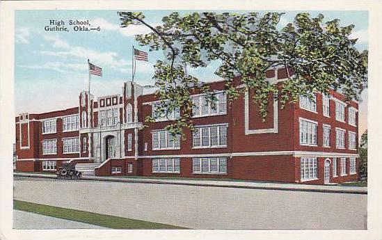 High School, Guthrie, Oklahoma,  00-10s