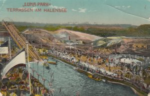 BERLIN , Germany , 1912 ; LUNA-PARK , Terrassen am Halensee