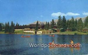 Canada Jasper, Alberta Jasper Park Lodge, Lac Beauvert