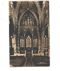 Harvey's Real Photo Series, Interior, St Mary;s Church Andover, England