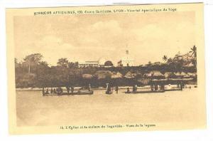 L'Eglise et la maison de Togoville, Vues de la lagune, Togo, 00-10s