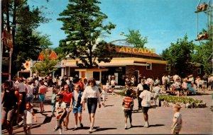 Canobie Park Salem NH Arcade Amusment Park Vintage Postcard - New Hampshire
