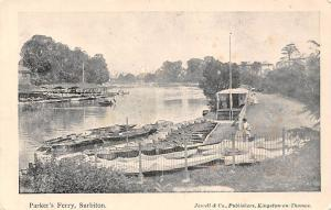 Surbiton, Parker's Ferry, Boats, Jewell & Co. Kingston-on-thames