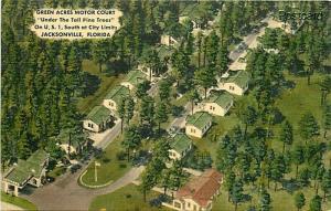 FL, Jacksonville, Florida, Green Acres Motor Court, M.W.M. No. 11,819F