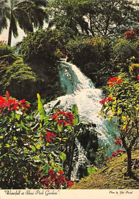 Waterfall at Shaw Park Gardens Ocho Rios