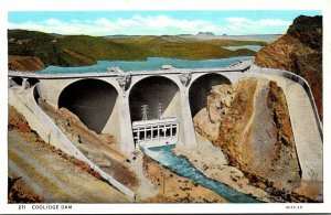 California The Coolidge Dam Curteich