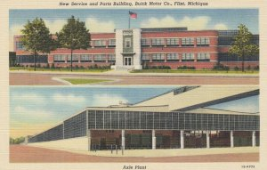 FLINT , Michigan, 1930-40s ; Buick Motor Company, New Service & Parts Bldg