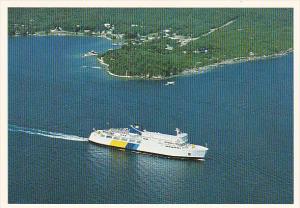 Canada Ferry M S Chi-Cheemaun On Georgian Bay