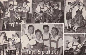 Inn Spatzen Karl Haidinger Austria Music Band Hand Signed Postcard