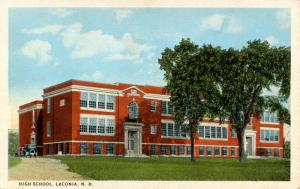 NH - Laconia. High School