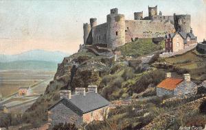 uk2525 harlech castle wales  uk