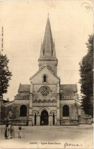 CPA Ligny - Eglise Notre-Dame (391708)