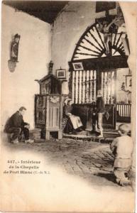 CPA Intérieur de la Chapelle de PORT BLANC (230751)