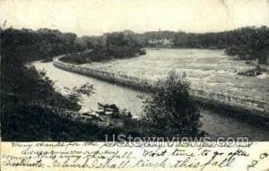 Merrimac River Lowell MA 1906