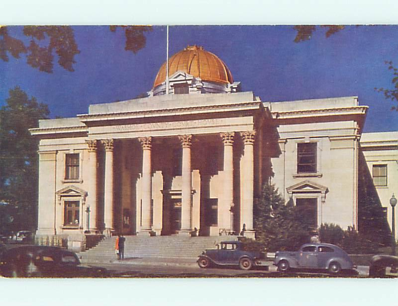 Unused Pre-1980 OLD CARS & QUICK DIVORCE COURT HOUSE Reno Nevada NV v4198
