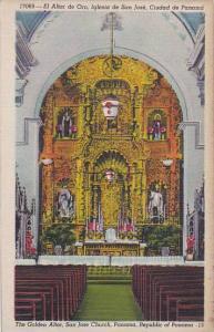 Panama Golden Altar San Jose Church