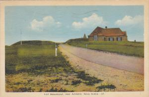 Fort Beausejour , AMHERST , Nova Scotia , Canada ,PU-1949