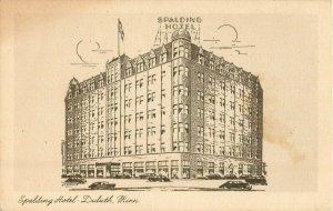 Postcard Hotel Spalding, Duluth, MN