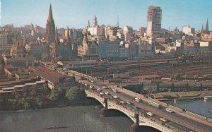 MELBOURNE, Victoria, Australia, 1950-1960s; Melbourne Skyline