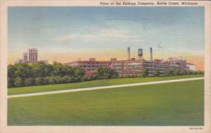 Michigan Battle Creek Kellogg Company Plant 1943 Curteich