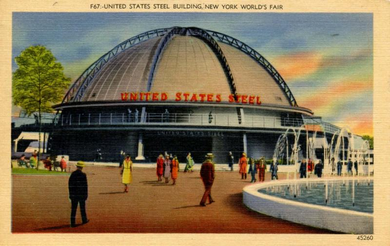 NY - New York World's Fair, 1939. United States Steel Building