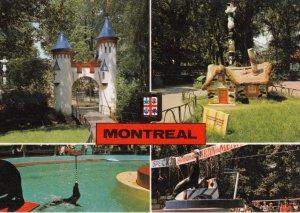MONTREAL , Quebec , Canada , 1987 ; 4-view postcard ; Seals