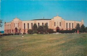 Auriesville New York~Catholic Coliseum: Temple of 72 Doors~1960s Postcard