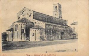 Pisa, Chiesa di S. Caterina, Toscana, Italy, 00-10s
