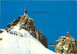 Postcard France Aiguille du Midi 3842m